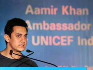 Aamir Khan At UNICEF Conference