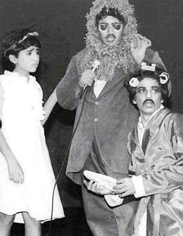Shah Rukh Khan Performing in a Play During His College Days