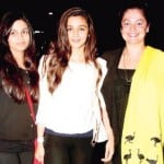 Alia Bhatt With Her Sisters Shaheen and Pooja