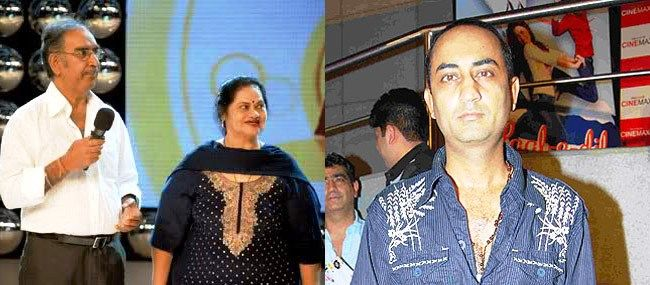 Ajay Devgn's Father Mother And Cousin Brother