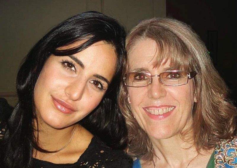 Katrina Kaif, with her mother, Suzanne Turquotte