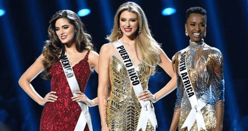 Top 3 Contestants of Miss Universe 2019